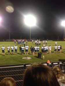 OA Football takes the field.